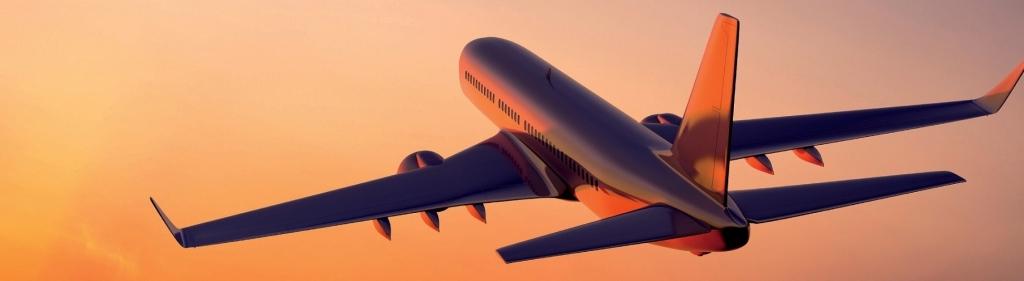 airplane-flight-sunset-2560x1440