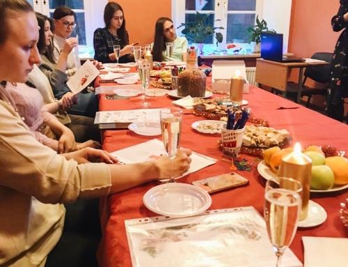 Итальянская рождественская встреча